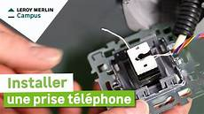 leroy merlin tel comment installer une prise t 233 l 233 phone leroy merlin