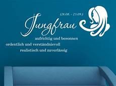 Sternzeichen Jungfrau Wandtattoo Sternzeichen Wandtattoo