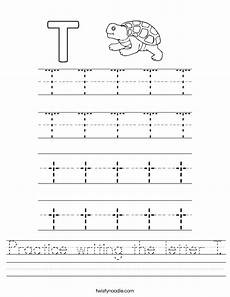 letter t tracing worksheets preschool 23835 practice writing the letter t worksheet twisty noodle