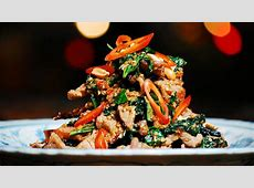 Beef tossed with wild betel leaf and lemongrass recipe