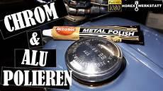 chrom polieren aluminium polieren tankdeckel mit