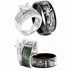 pretty camo wedding ring sets for him and sang maestro