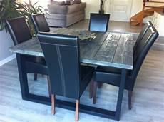 table salle a manger style industriel table de salle 224 manger style industriel acier et bois