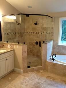 bathroom corner shower ideas frameless corner glass shower dual shower heads garden tub tiled shower dual shower heads
