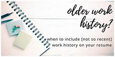 older employment history on your resume here s when it pays off