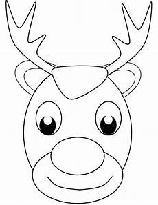 30 free reindeer coloring pages printable