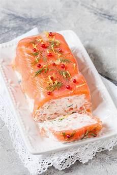 terrine au saumon et crevettes recette entree de fete