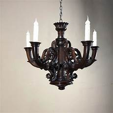 Antique Louis Xiv Carved Wood Chandelier Inessa Stewart