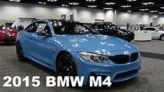 2015 Bmw M4 In Yas Marina Blue