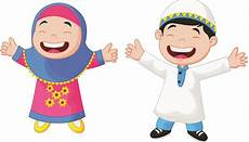 Muslim Child Illustration Gambar Kartun Anak