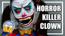 Horror Clown Schminken - horror killer clown make up tutorial