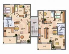 Hausbau Grundrisse Mehrfamilienhaus