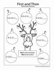 christmas math coloring first then worksheet woo jr kids activities