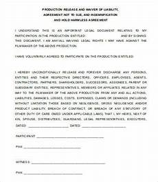 release of liability form 7 free word pdf documents download free premium templates
