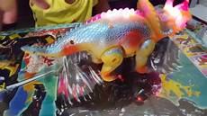 dinosaurus mainan anak kecil yellow dinosaur youtube