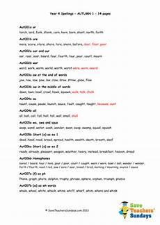 spelling worksheets year 4 australia 22630 year 4 spellings words lists new 2014 curriculum by saveteacherssundays teaching resources tes