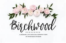 birchwood calligraphy font by printablewisdom on creativemarket favorite fonts calligraphie