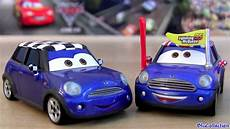 how to learn everything about cars 2012 mini cooper clubman interior lighting cars 2 becky wheelin 33 diecast toy disney chase mini cooper car pixar toys review by