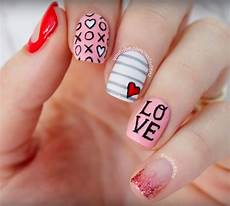 valentine s day nails 7 fun fairly easy ideas for you or