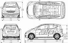 Dimensions Mercedes W140