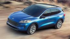 ford kuga hybride 2020 ford kuga new look and hybrid tech