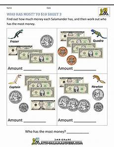 money counting worksheets free printable 2722 printable money worksheets to 10