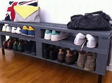 meuble palette pas cher rangement chaussures 224 prix mini ou 224 faire soi m 234 me