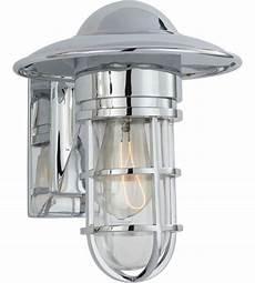 visual comfort slo2001ch cg e f chapman marine 1 light 11 inch chrome outdoor wall lantern in