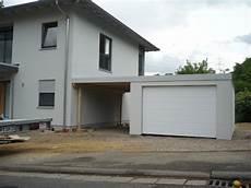 Garagen Carport Kombination Als Fertiggarage