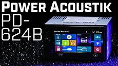 Power Acoustik Pd 624hb Din Bluetooth Stereo With