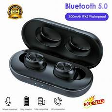 Bluetooth Earphone Hifi Cvc8 Noise Reduction by B5 Tws Earbuds Hifi Bluetooth 5 0 Wireless Earphone Cvc8 0