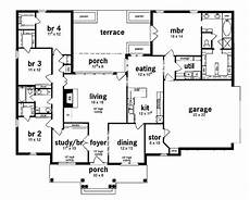 5 bedroom house plans single story floor plan 5 bedrooms single story five bedroom european