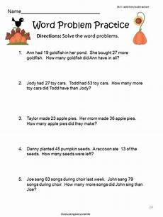 word problems worksheets ks3 11067 fall math centers and printable activities math word problems 2nd grade math worksheets word