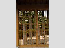 Japanese lattice door, fencing, privacy screening, gates