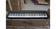 yamaha digital piano p 45 transpose b stock yamaha p45 digital portable piano in black andertons co