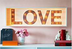 marquee light up love sign 42x13 via one kings lane diy home decor home decor glam house