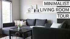 Minimalist Living Room Tour Minimal Design Sustainable
