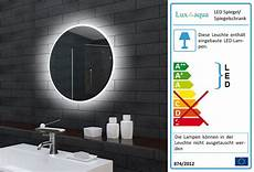 Badspiegel Rund Mit Beleuchtung - www aqua de rund led beleuchtung badezimmerspiegel