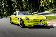 sls electric drive in4ride mercedes sls amg coupe electric drive breaks