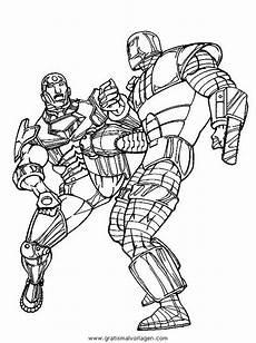 Ironman Malvorlagen Gratis Iron 23 Gratis Malvorlage In Comic Trickfilmfiguren