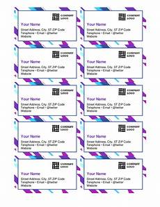 blank vertical business card template microsoft word business cards office