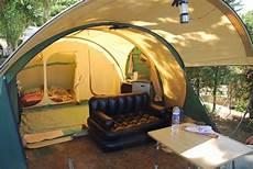 grande tente ouvertures maximales