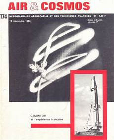 Amazon Com Cosmos 174 4 Revues D Astronautique Air Cosmos 19 Novembre 1966
