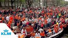 Klm King S Day In Amsterdam