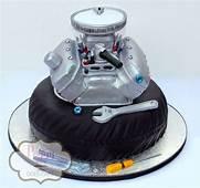 Engine Cake Motor Tire Mechanic Grooms