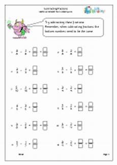 fraction worksheets y3 4177 fractions maths worksheets for year 3 age 7 8