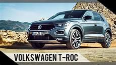 Volkswagen Vw T Roc 2017 Test Review Fahrbericht