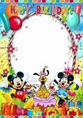 Disney Birthday Frames  Viewframesco