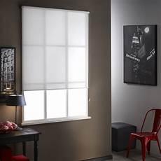 store enrouleur tamisant mesh blanc 60 64 x 250 cm