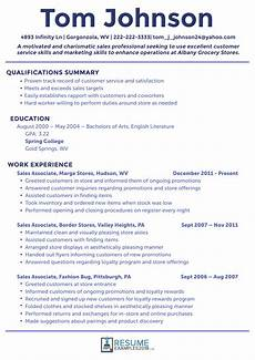 what are the best sales resume exles 2019